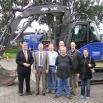 Wandsbeks Bürgermeister besucht das Technische Hilfswerk