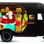 UPS Christmas Truck