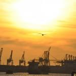 Hafen und Speicherstadt