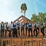 Richtfest im Museumsdorf Volksdorf