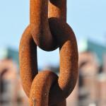 Speicherstadt Eisenkette