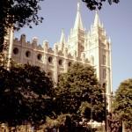UTAH, Mormonen Tempel Salt Lake City