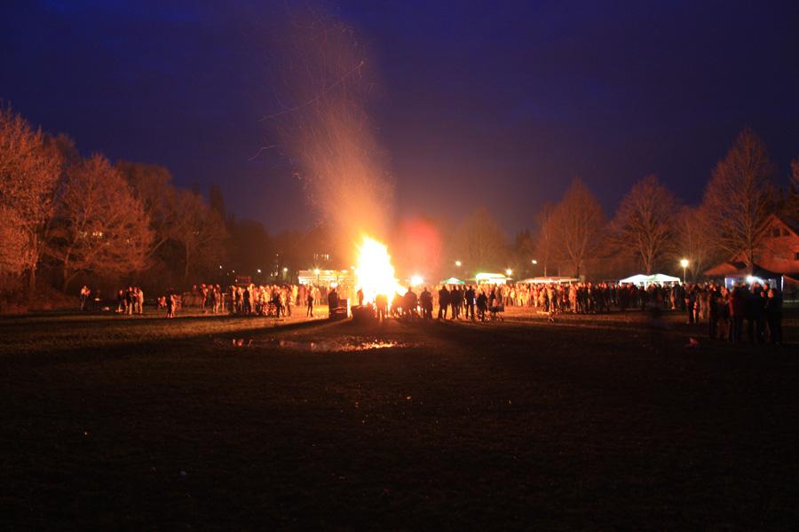 Osterfeuer Bramfeld