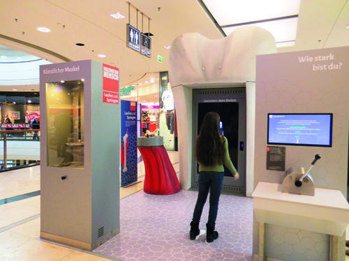 Faszination Mensch –   Eine Expedition in deinen Körper  im Alstertal-Einkaufszentrum