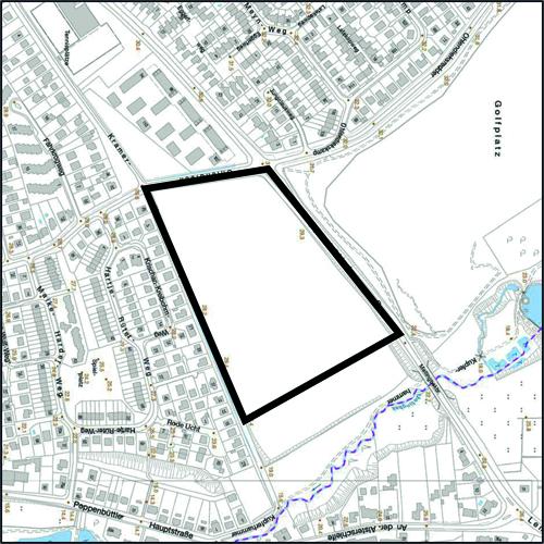 Öffentliche Auslegung des Bebauungsplan-Entwurfs Poppenbüttel 43