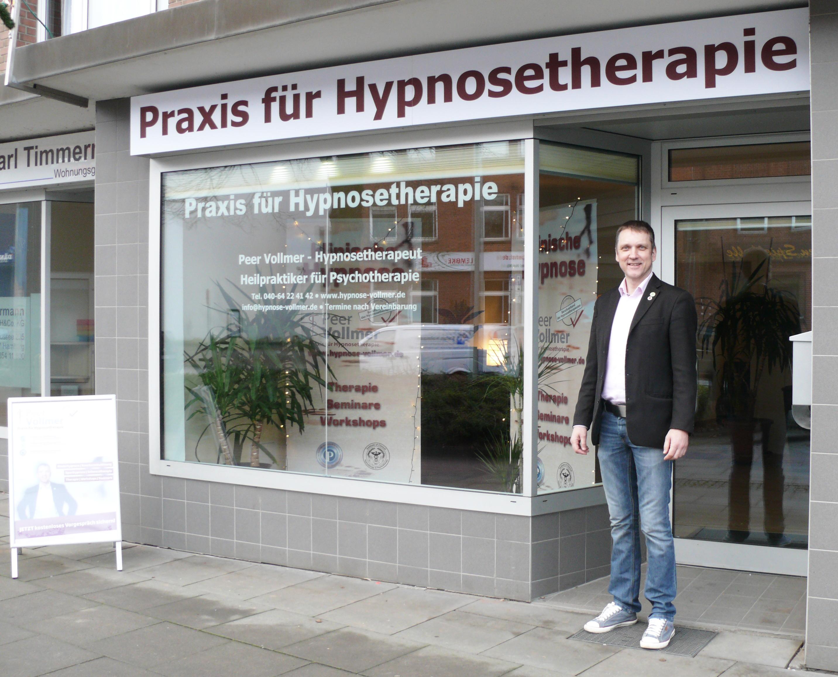 Hypnosetherapeut Peer Vollmer ab sofort in neuen Räumen