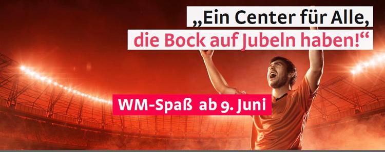 WM-Spass in der Marktplatz Galerie