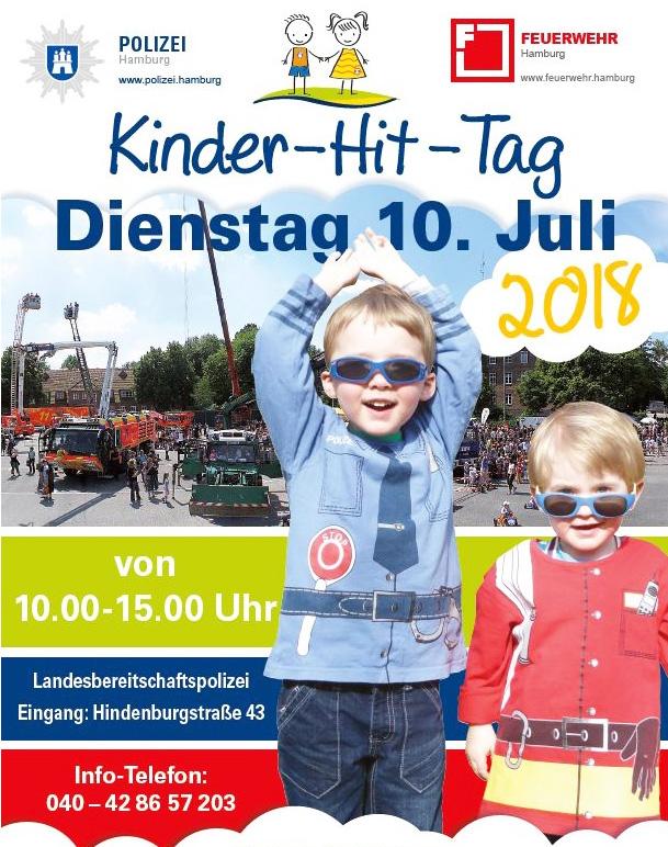 Kinder-Hit-Tag von Feuerwehr und Polizei