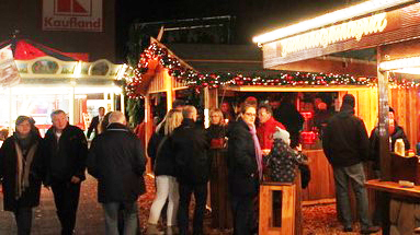 Hamburgs kleinster Weihnachtsmarkt steht in Bramfeld!