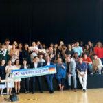 Jugendgruppe aus Südkorea im Bezirksamt zu Gast