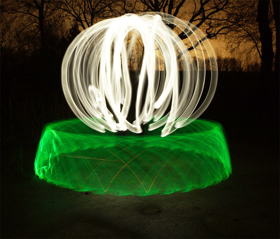 Neue Ausstellung im Kunstraum Farmsen: Light Painting