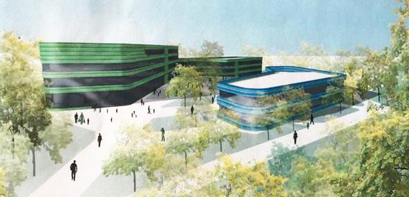 Bücherhalle Steilshoop zieht in den neuen Campus Steilshoop