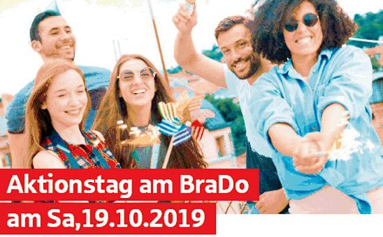 Samstag ist Aktionstag am BraDo