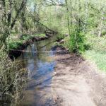 Wohldorfer Schleuse für Kanuten nicht befahrbar