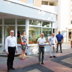 CDU-Bürgerschaftsabgeordneter Sandro Kappe eröffnete am 13.08 sein Bürgerbüro im Herzen von Steilshoop